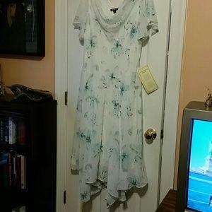 White Embellished Formal Dress NWT